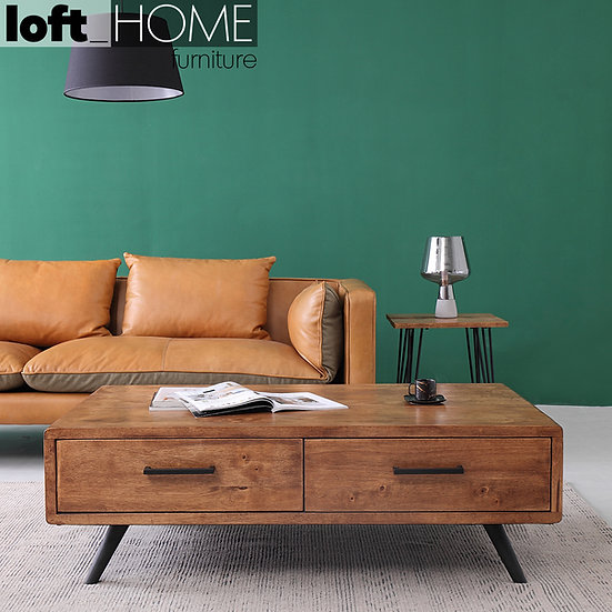 Rubber Wood Coffee Table – SERB