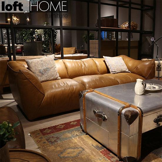 Full Genuine Leather Sofa – BEANBAG