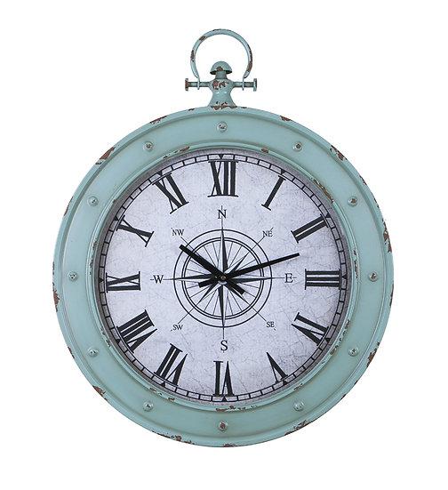 Round Metal Marine Wall Clock
