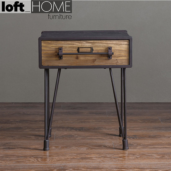 Bed / Sofa Side Table – Industrial