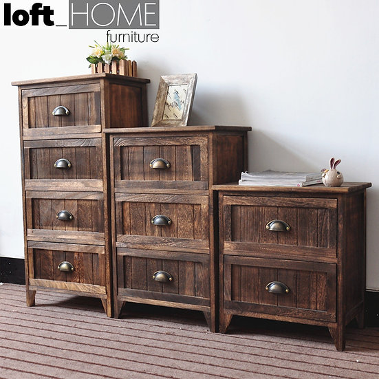 Chest of Drawer / Bed Sofa Side Table – Classic