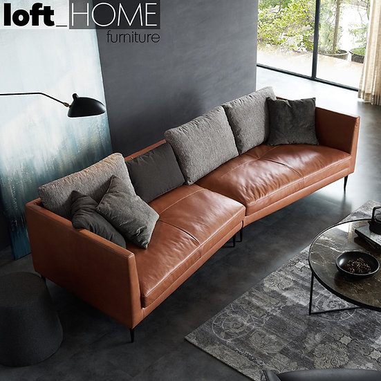 Full Genuine Leather Sofa – Nardin