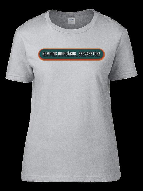 """""""Camping bikers"""" Women's T-Shirt"""
