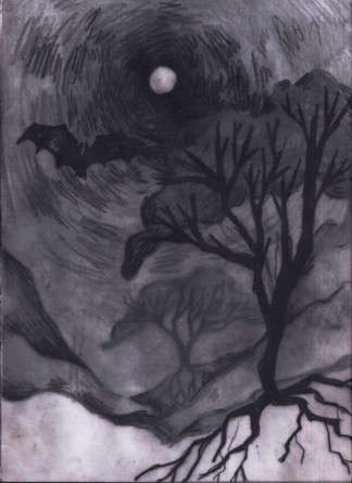 Layered drawing