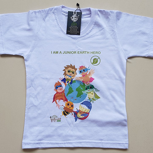 Bamboo Cotton T shirt for kids