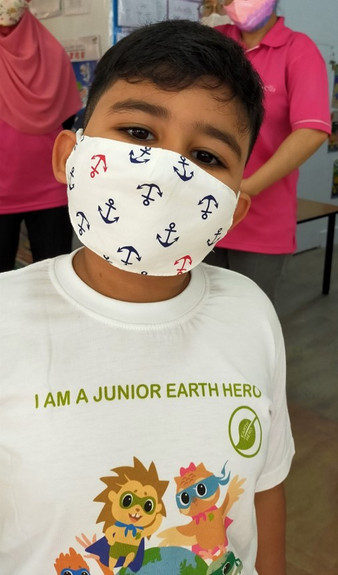I am a Junior Earth Hero