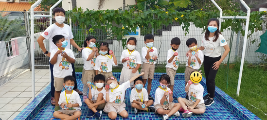 We are Junior Earth Heroes!