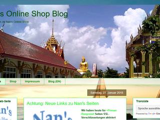 New Design of Nan's German Blog