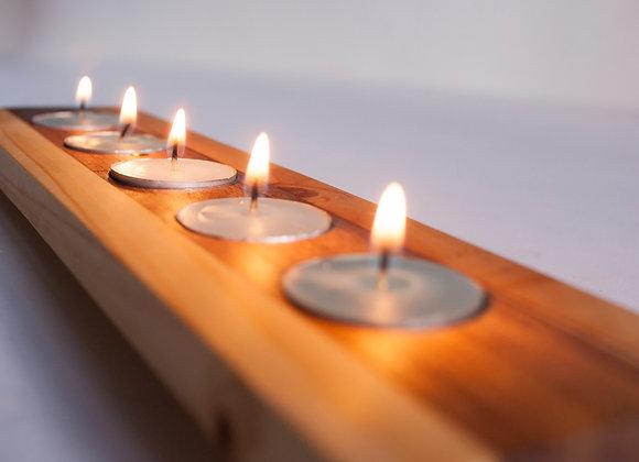 Caminos de luz (soportes para velas)