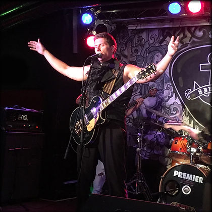 Jim Creard on stage