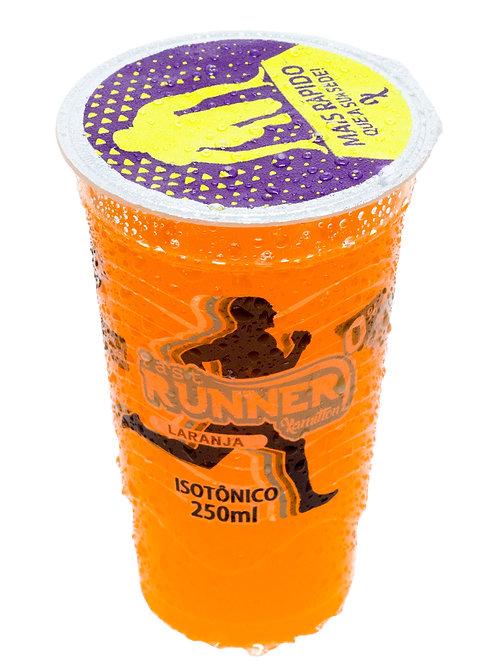 Isotônico Fast Runner Sabor laranja Cx c/12 copos
