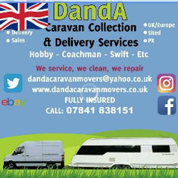 caravn delivry service dandacaravanmovers