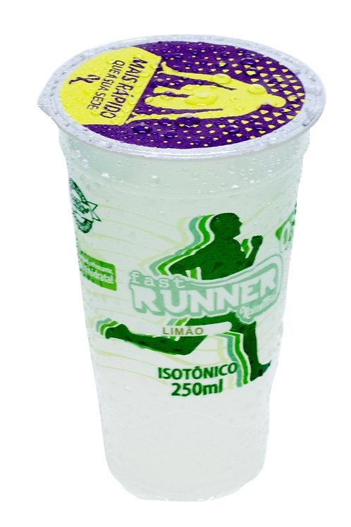 Isotônico Fast Runner Sabor limão Cx c/12 copos