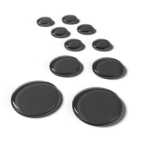 SlapKlatz Pro Drum Dampeners Black (10 Pack)
