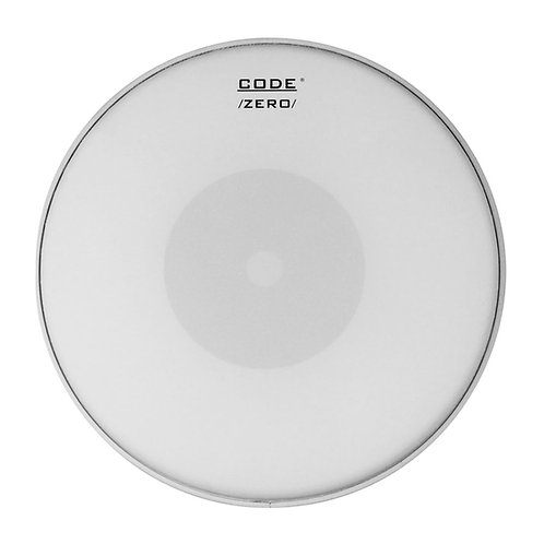 "13""/14"" Code Zero Single Ply Coated Snare Drum Head"