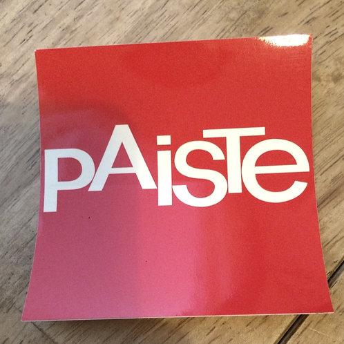 Paiste Stickers (Square)