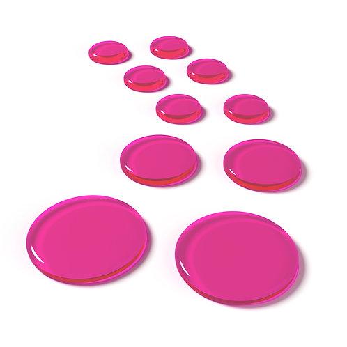 SlapKlatz Pro Drum Dampeners Pink (10 Pack)