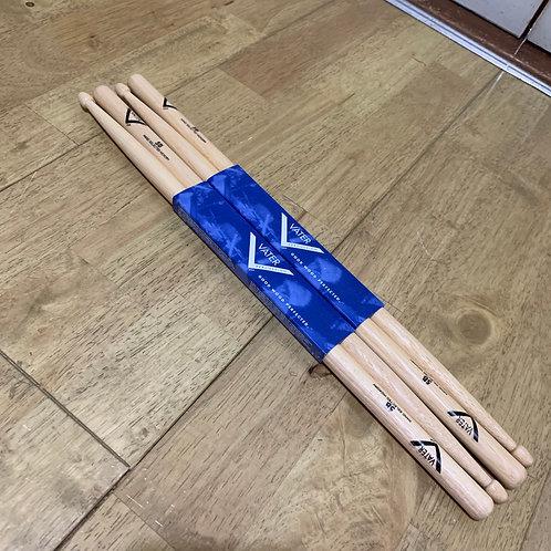 2 x Pairs NEW Vater 5B Wood Tip Sticks