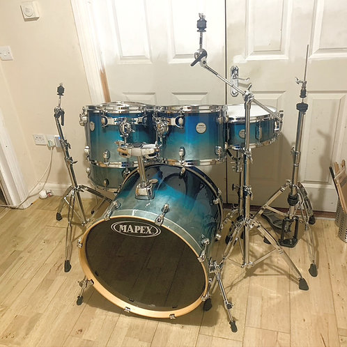 Fully Refurbished Mapex Meridian Birch Drum Kit