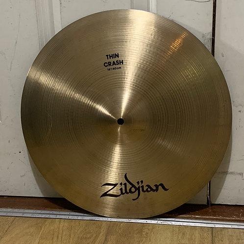 "16"" Avedis Zildjian Thin Crash"