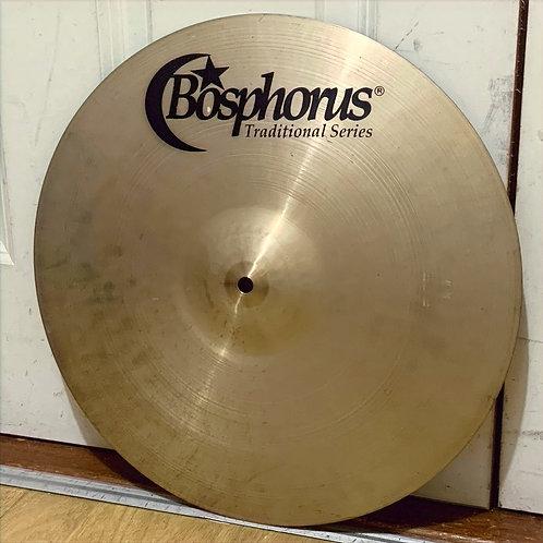 "16"" Bosphorus Traditional Series Thin Crash"