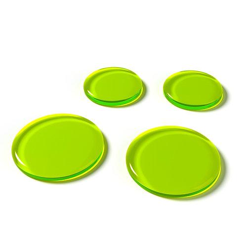SlapKlatz Drum Dampeners Green (4 Pack)