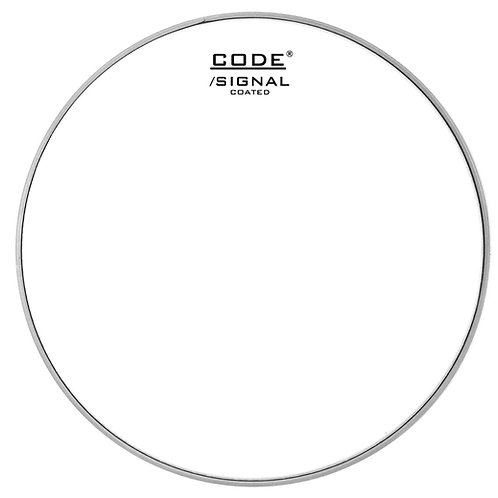 "13""/14"" Code Signal Single Ply Coated Snare Drum Head"