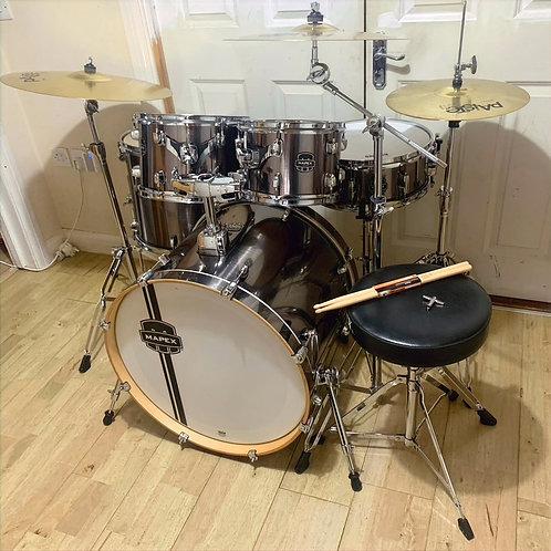 Refurbished Mapex Horizon Drum Kit with Cymbals
