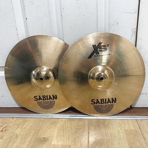 """14"""" Sabian XS20 Medium Hi Hats"""