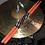Thumbnail: NEW Van Howick Deep Orange Drum Sticks