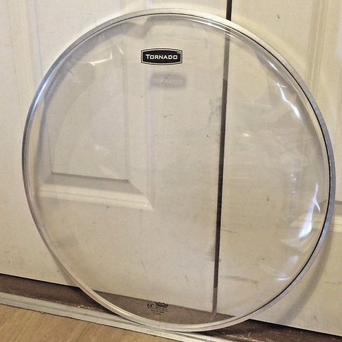 "New Old Stock 18"" Mapex Tornado (Remo) Bass Drum Head with Internal Damping Ring"