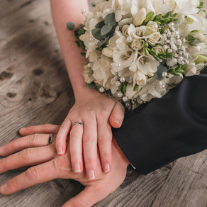 Comemorar as bodas de casamento... EM CASA!!