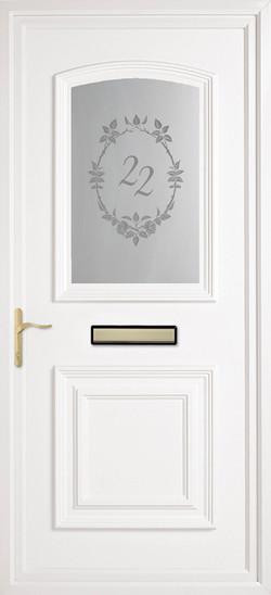 Bluntisham sb door number