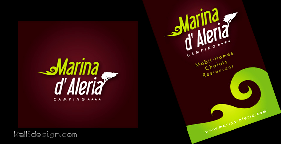 Carte de visite Marina d'Aleria
