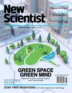Mock magazine cover