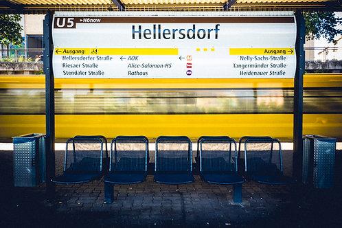 Hellersdorf aus meiner Sicht - U-Bahn