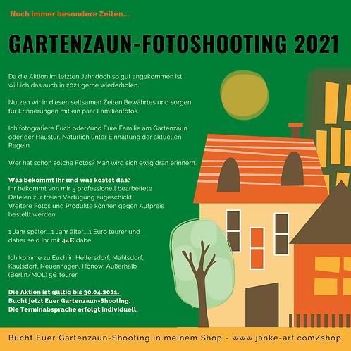 Gartenzaun-Shooting 2021 - Bitte die Orte beachten!