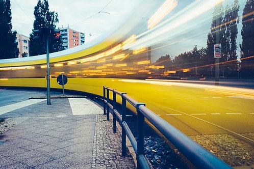 Hellersdorf aus meiner Sicht - Straßenbahn