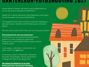 Gartenzaun-Fotoshooting 2021