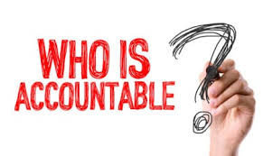 What is the difference between accountability & responsibility?