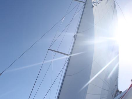Adjusting our sails