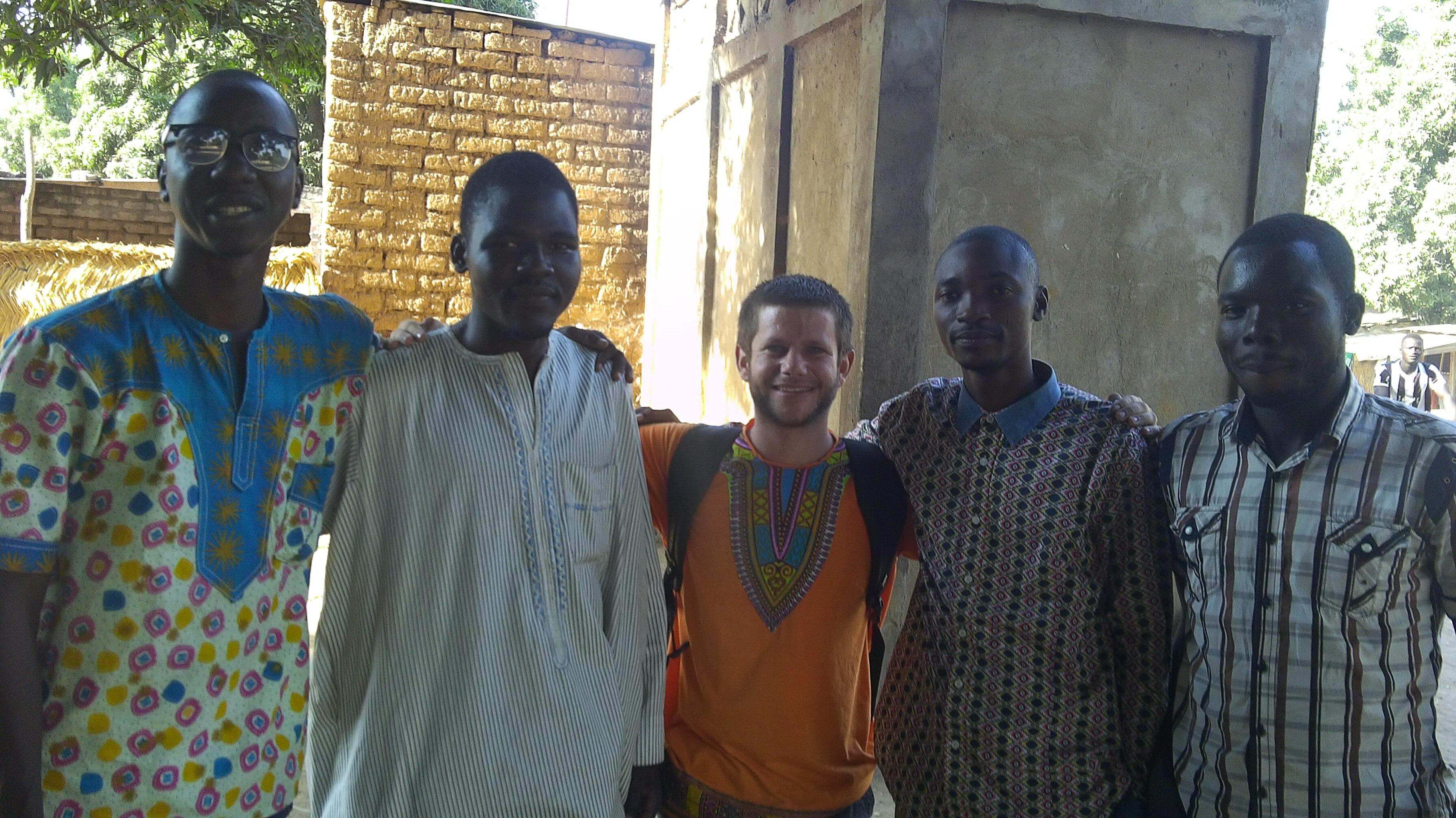 Avec les frères à Sarh