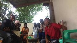 Groupe d'évangélisation à N'Djamena