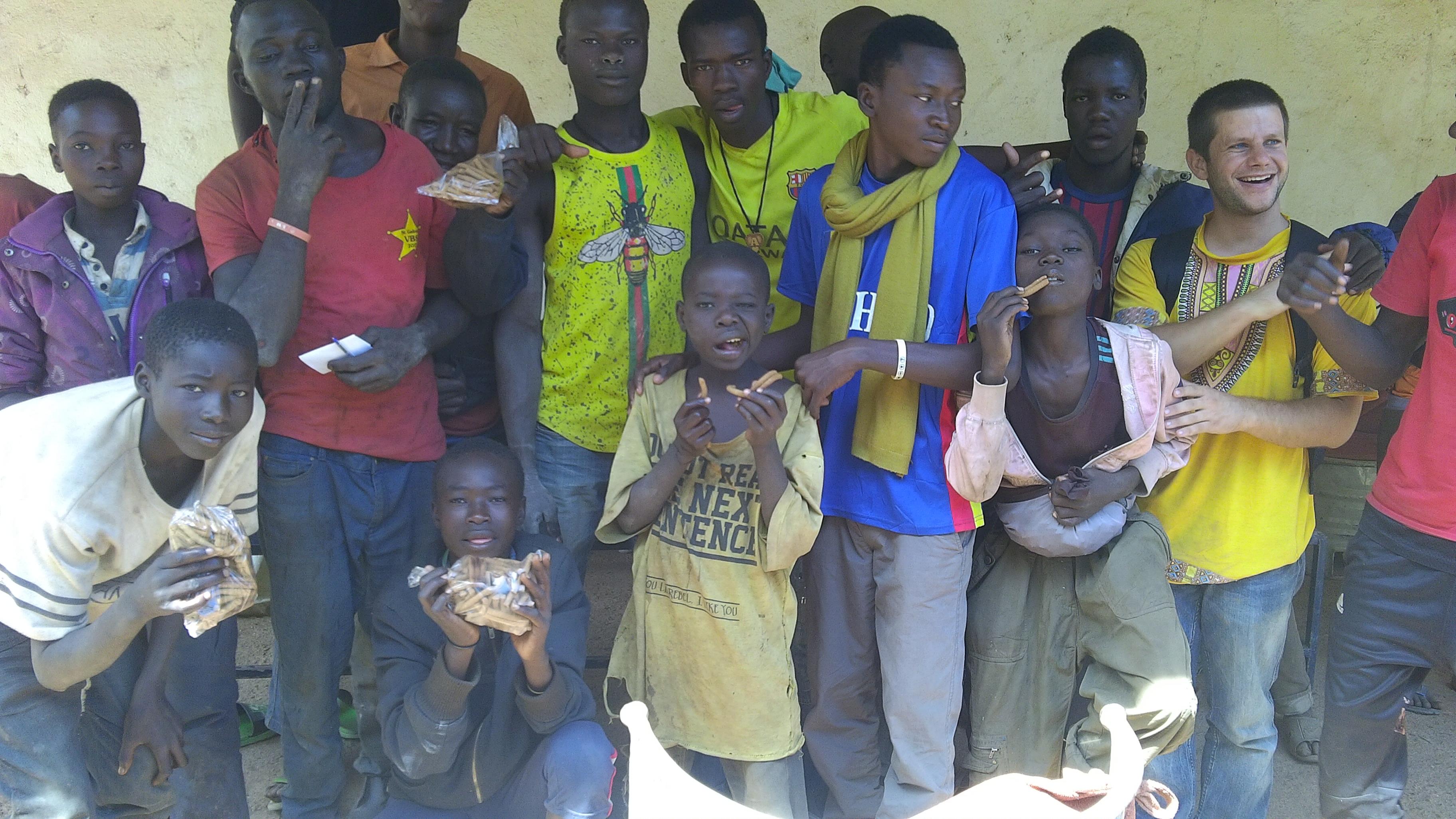 Visite auprès des enfants de la rue