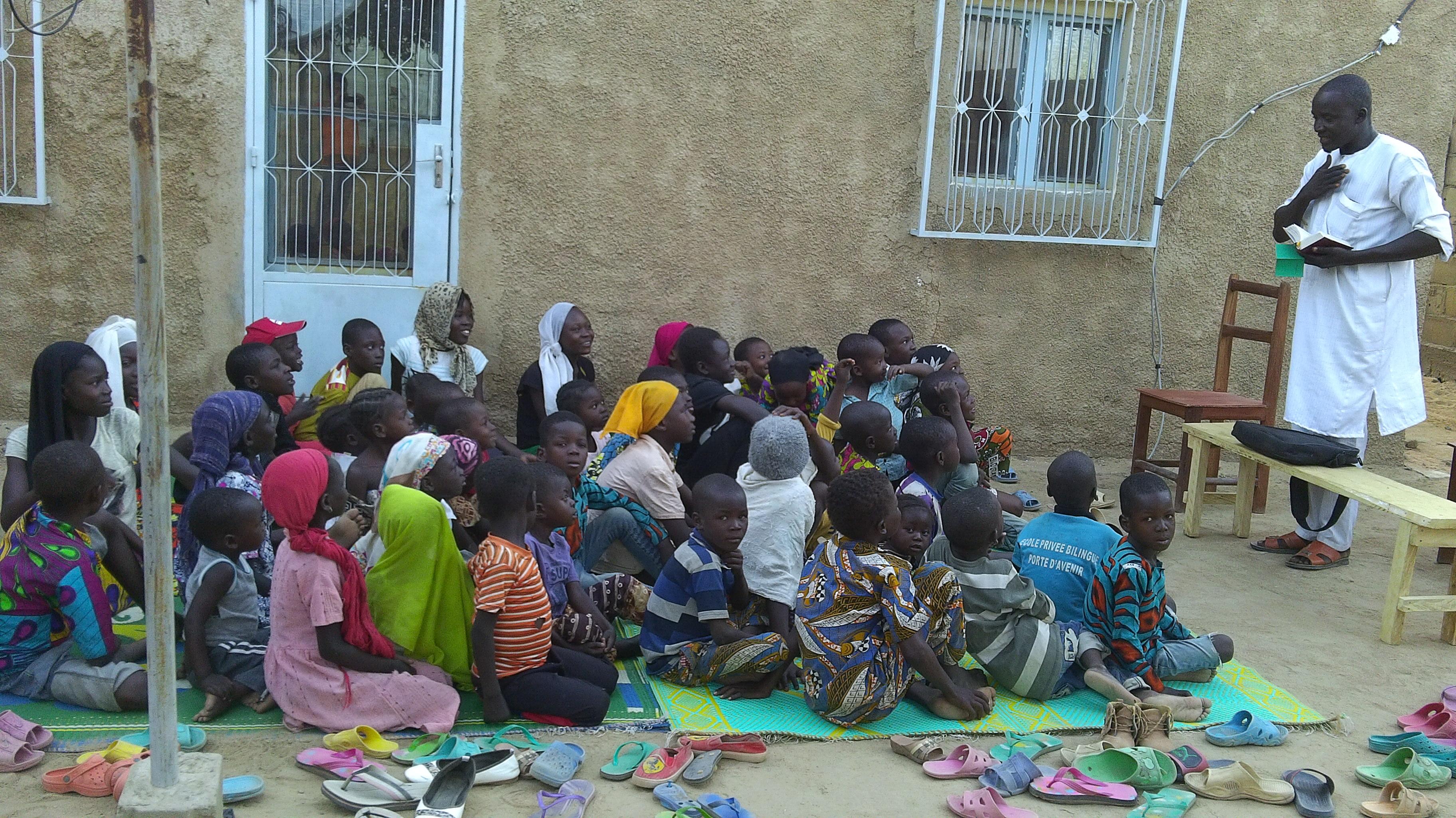Club d'enfants à Farcha