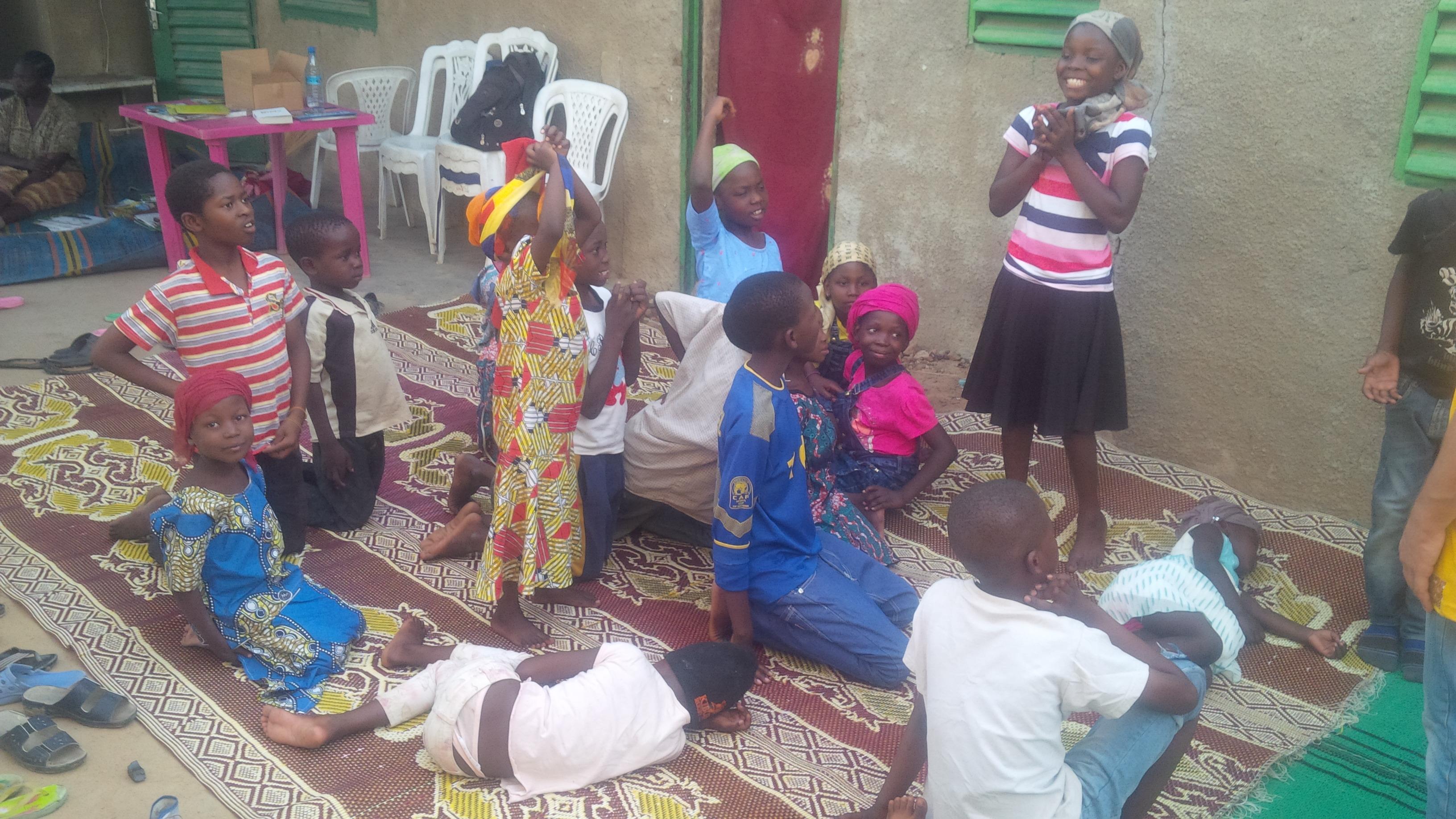 Club d'enfants à N'Djaména