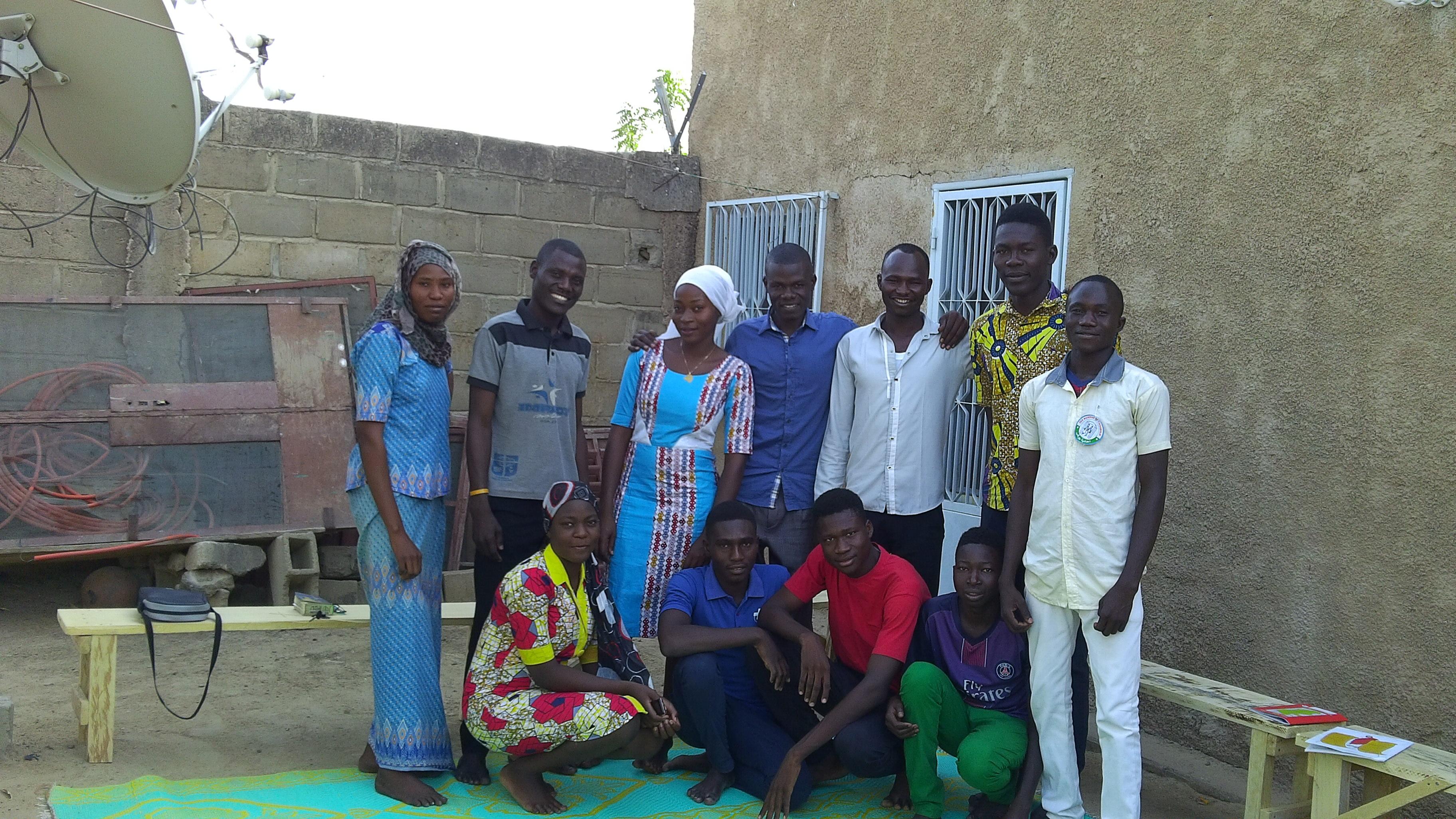 Notre famille à Farcha