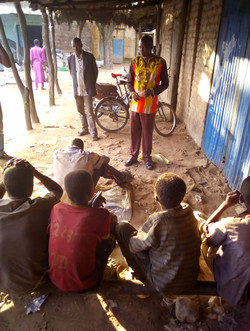 Evangélisation parmi les enfants