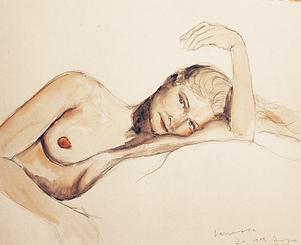 Illustration Nude Larissa Streule