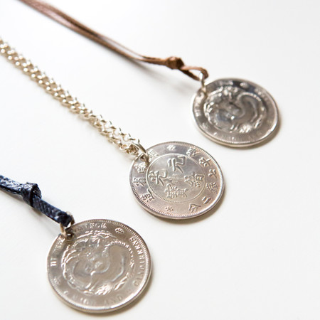 Chinesische Münze 40mm massiv Silber